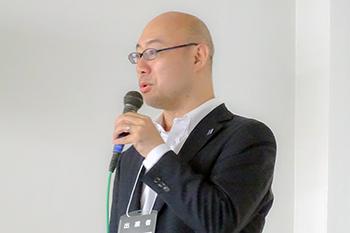 カワダロボティクス株式会社 藤井氏