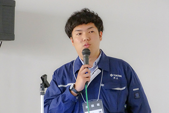 常磐電機株式会社 井上氏